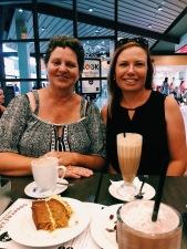 Robyn & Mum enjoying the Coffee Club