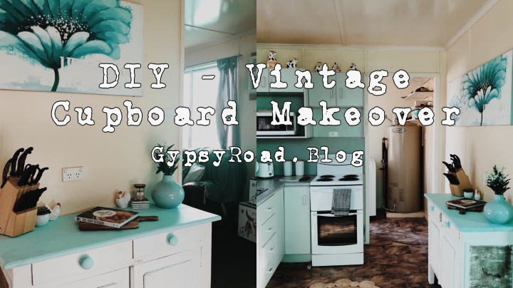DIY – vintage cupboard makeover